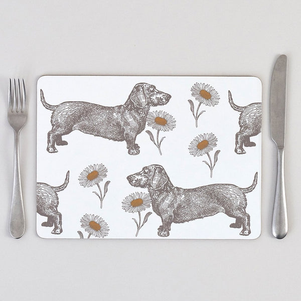 Dog & Daisy Placemat Set of Four