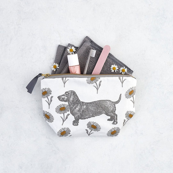 Dog & Daisy Cosmetic Bag