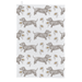 Dog & Daisy Tea Towel