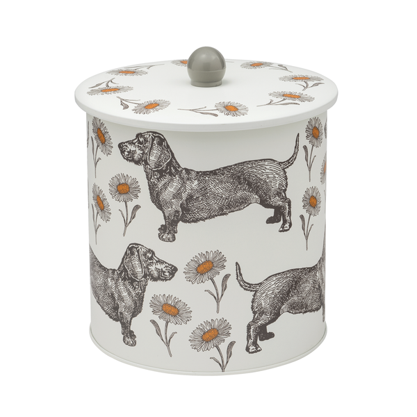 Dog & Daisy Biscuit Barrel