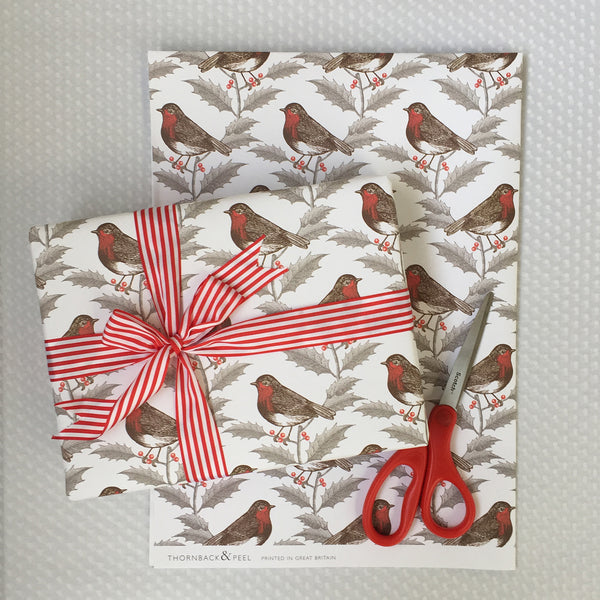 Robin & Holly Gift Wrap