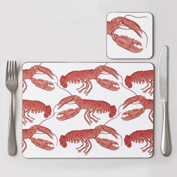Lobster Placemat Set of Four