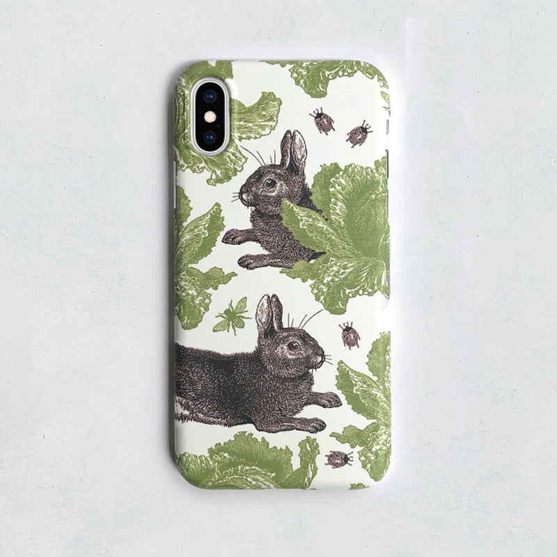 Classic Rabbit & Cabbage Phone Case