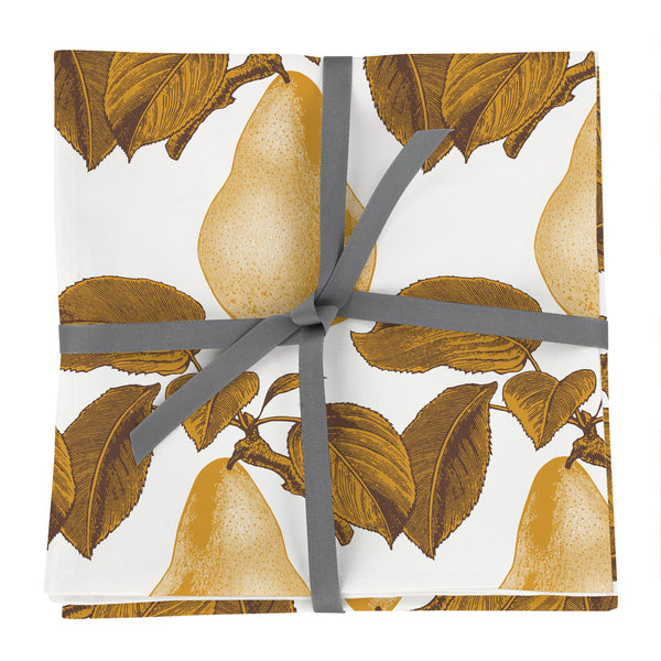 Pear Napkin Set of Four