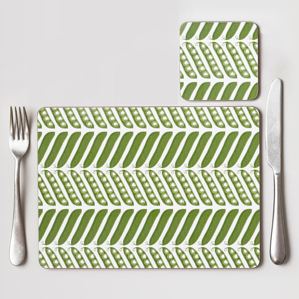 Pea Pod Placemat Set of Four