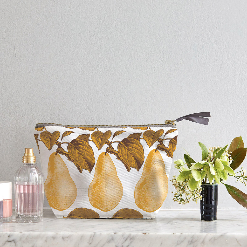 Pear Cosmetic Bag