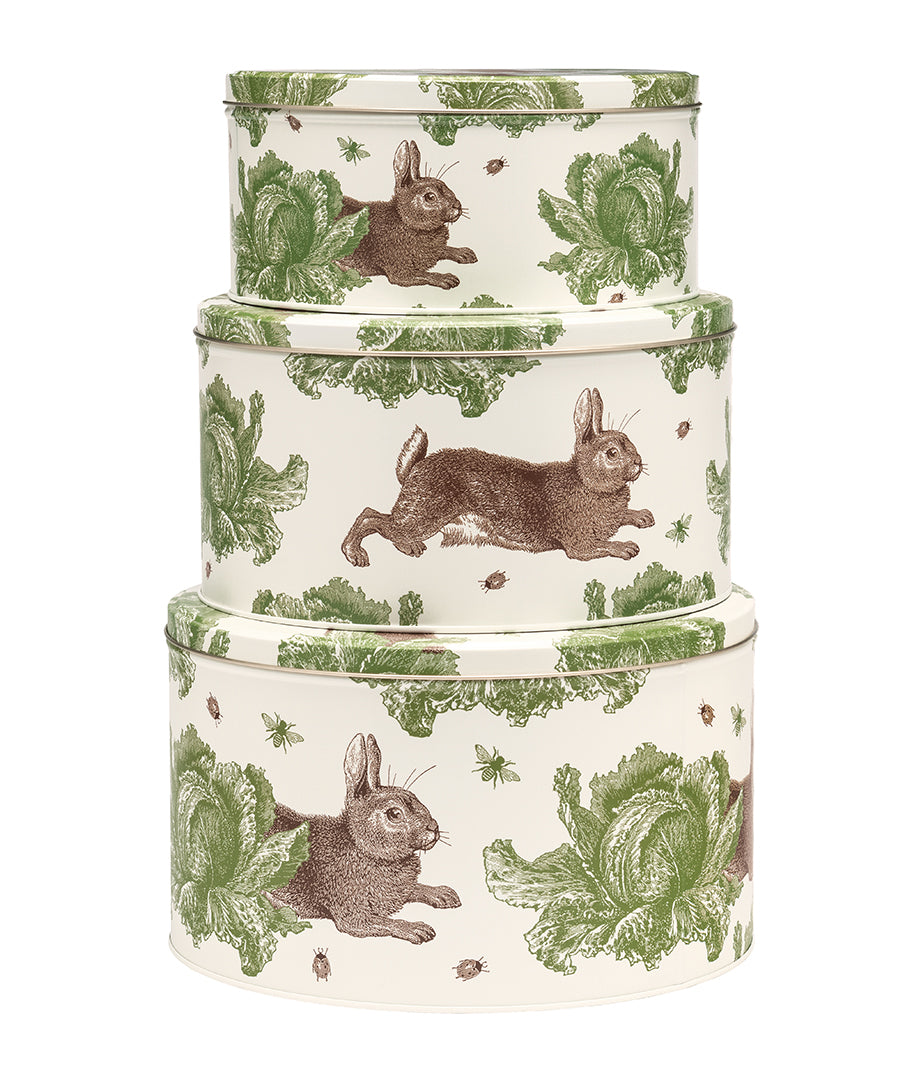 Rabbit & Cabbage Cake Tin Set