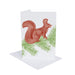 Squirrel & Spruce Christmas Cards Set of 12