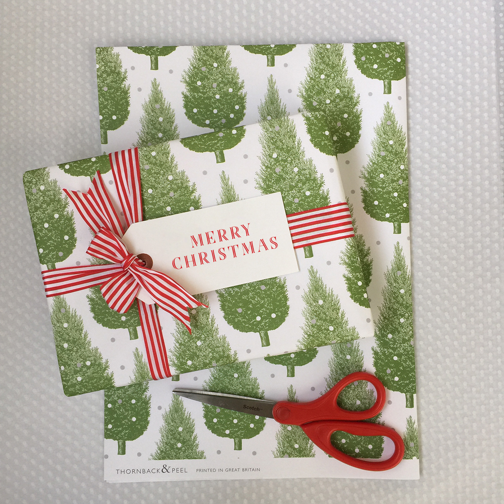 Christmas Tree Gift Wrap