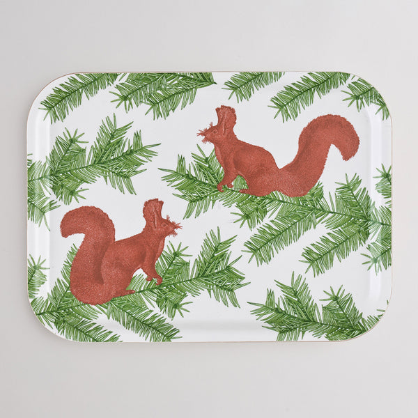 Squirrel & Spruce Tray Small