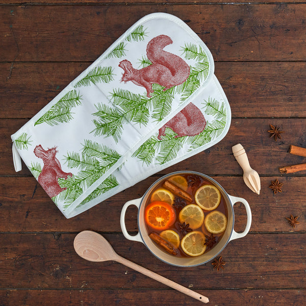 Squirrel & Spruce Oven Gloves