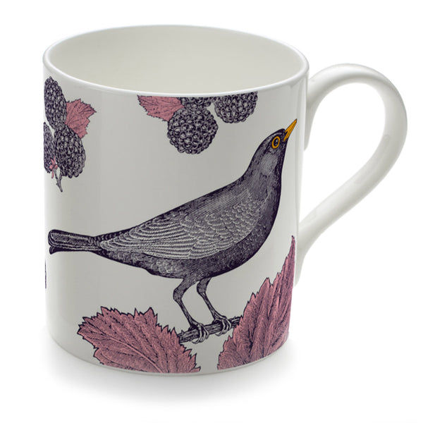 Blackbird & Bramble Mug
