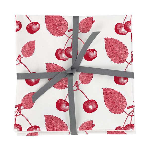 Cherry Napkin Set of Four