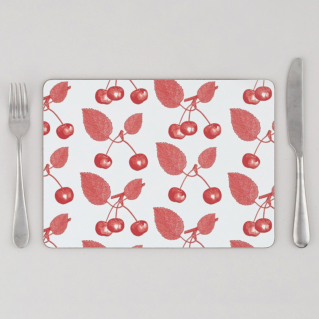 Cherry Placemat Set of Four