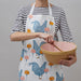 Chicken & Carnation Apron