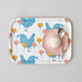 Chicken & Carnation Small Tray