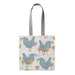 Chicken & Carnation Tote Bag
