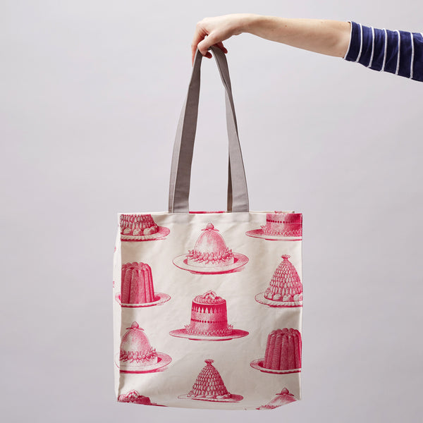 Pink Jelly & Cake Tote Bag