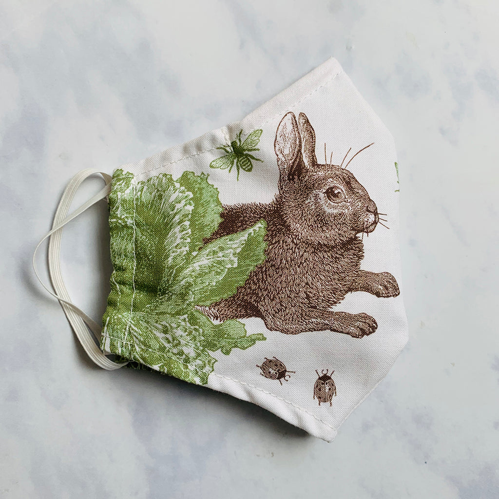 Rabbit & Cabbage Face Mask