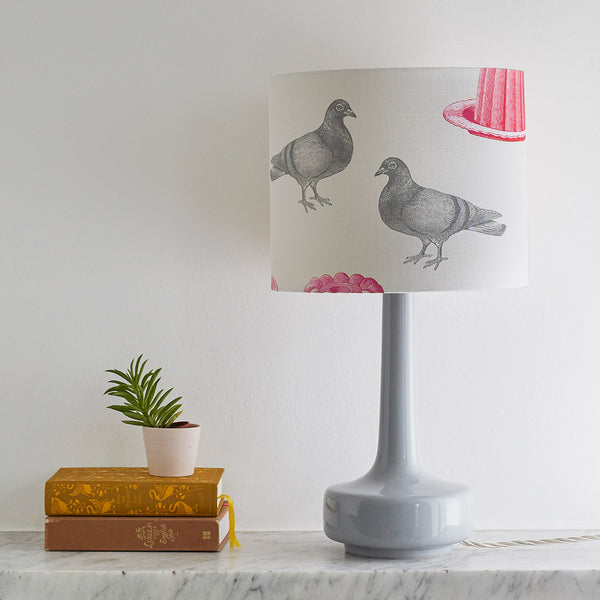 Pigeon & Jelly Table Lampshade