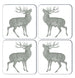 Stag Coaster Set of Four