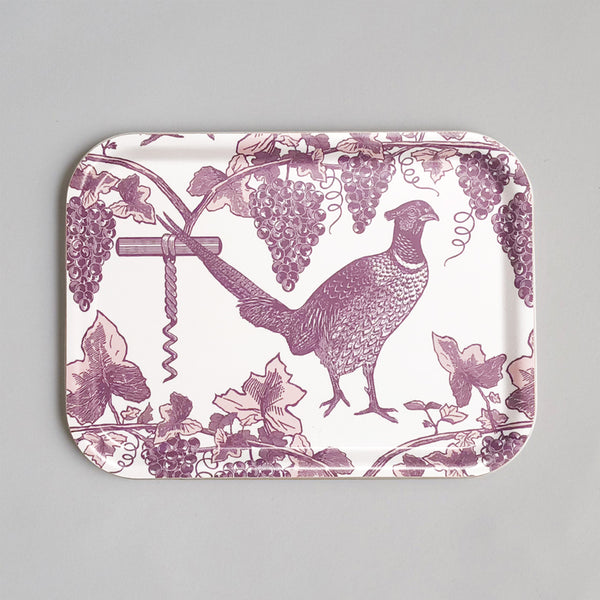 Pheasant & Vine Tray Small