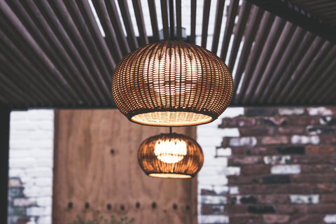collectiviste Lighting buying guide - ceiling lights natural materials