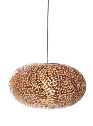 Collectiviste Callisto Ovo Shade 40cm - Golden Oyster Shell Flakes
