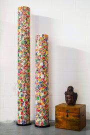 Modern Multi Coloured Floor Lamps - Calypso by Collectiviste (150cm and 200cm)