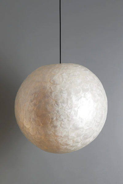 Amroth Oyster Shell Ceiling Sphere