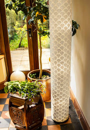 Seville cylinder floor lamp by Collectiviste.