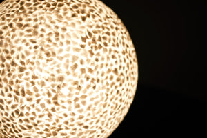 unique mother of pear shell lamps by collectiviste