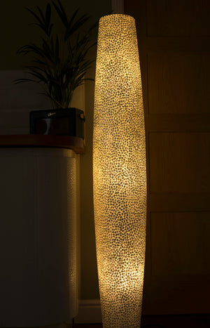 Elara Floor Lamp by Collectiviste - Unique Mother of pearl Shell