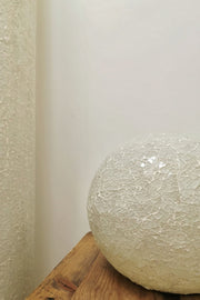 Amalthea White Glass Globe Lamp