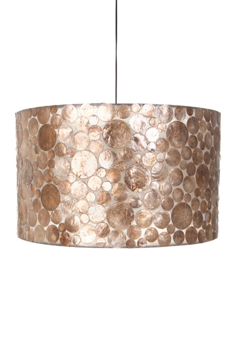 collectiviste lighting midas gold oyster shell ceiling light
