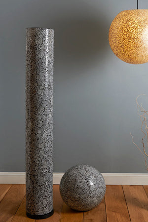 Amalthea Column Floor Lamp by Collectiviste - Unusual Frosted Glass Column Light