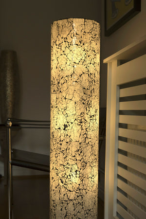 collectiviste modern frosted glass floor lamp - Handcrafted in Bali