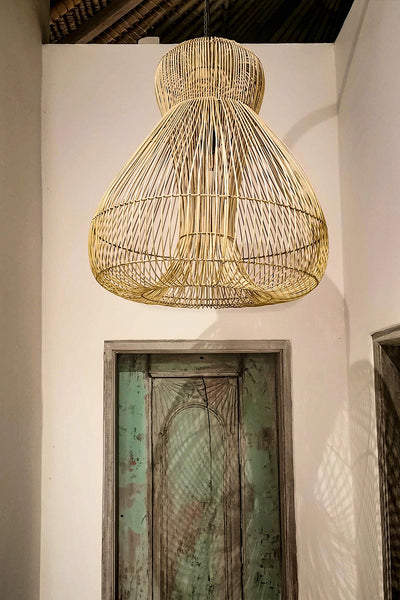 Medusa Rattan Light Shade