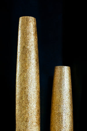 Callisto Tall Gold Floor Lamp (Available in 2 sizes)