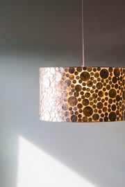 collectiviste lighting midas gold oyster shell ceiling light product