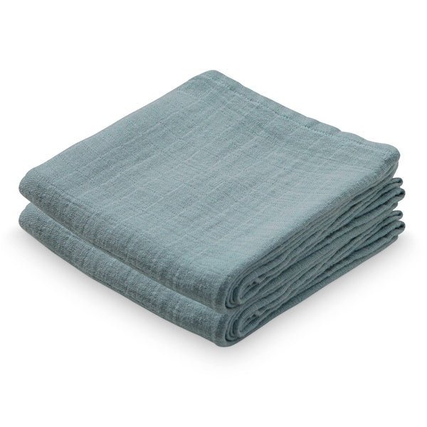 Muslin Cloth, 2 pack- Petroleum