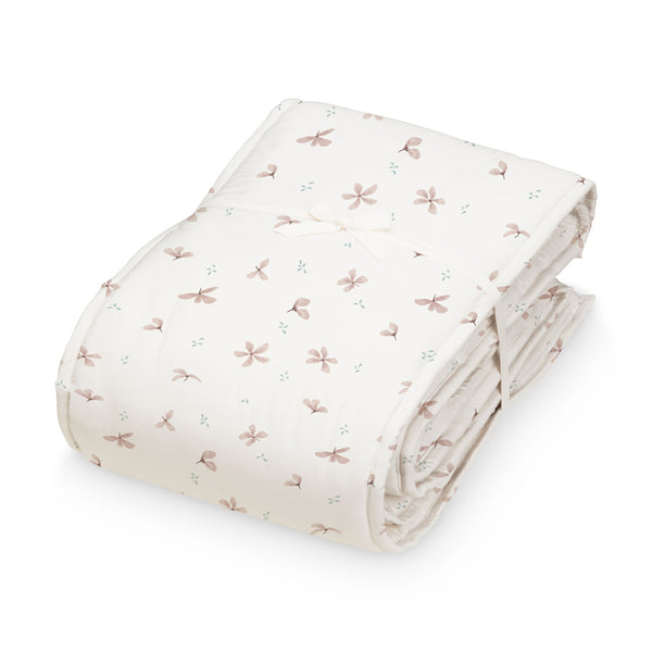 Bettumrandung Babybett - OCS Windflower Creme