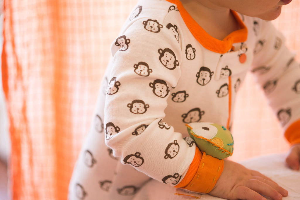 mirasa design footed onesie