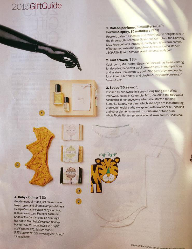 mirasa design my tiger onesie Holiday gift guide
