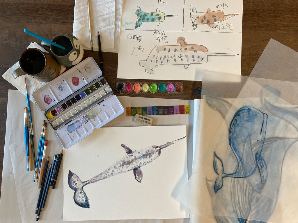 mirasa whales in process
