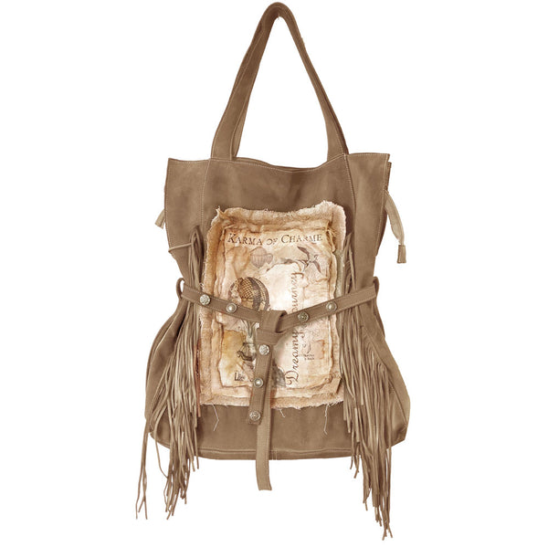 DREAMY BAG FRINGE - SAND
