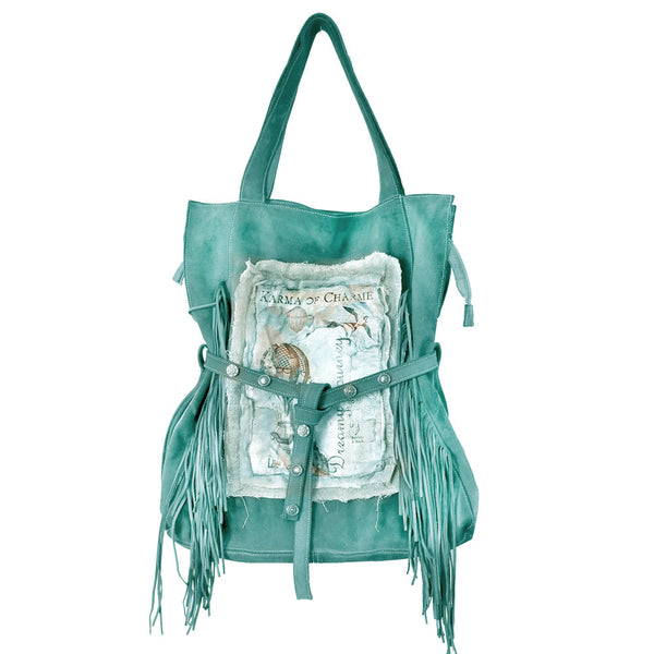 DREAMY BAG FRINGE - EMERALD
