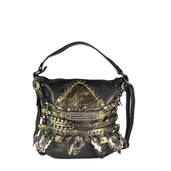 Django Bag STAR - Deep Black - Karma of Charme