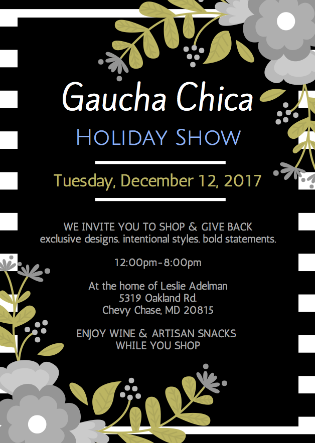 Gaucha Chica Holiday Show - December 12
