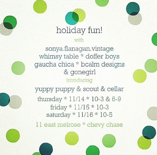 HOLIDAY FUN NOVEMBER 14-16